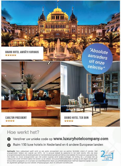Gratis hotel cadeaukaart bij badjas.nl