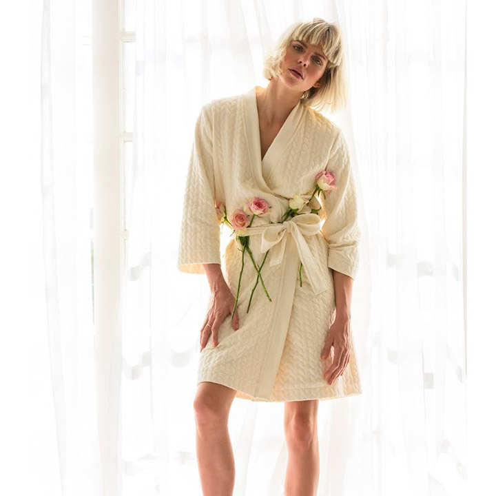 Badjassen art, kunst met badjassen!