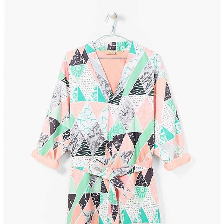 Deze damesbadjas past het beste bij jouw figuur!
