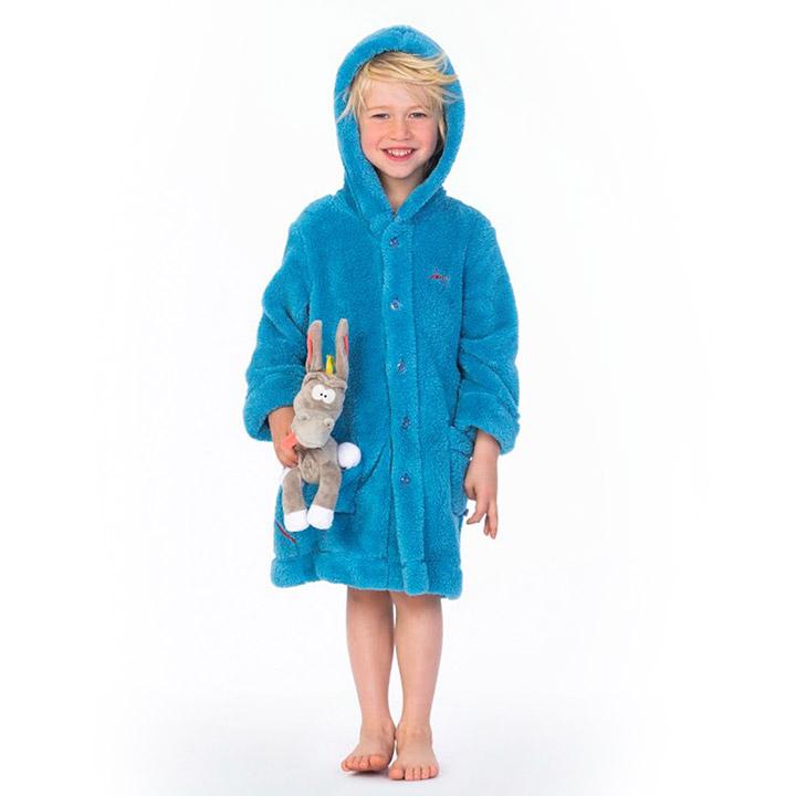 Waarom je niet vroeg genoeg kunt beginnen met het dragen van een badjas