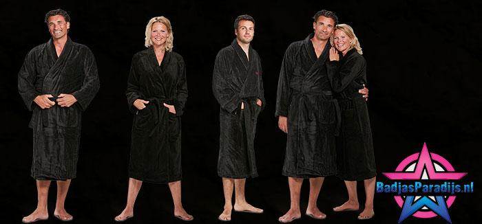 Zwarte badjassen
