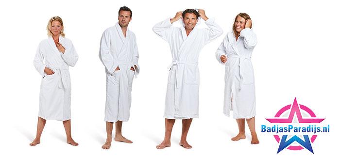 Witte badjassen
