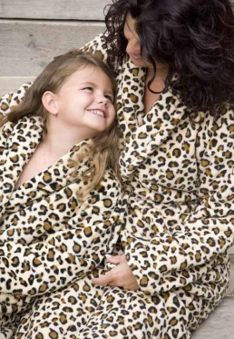 Little Wild Thing - kinder badjas - L (9-10 jaar)
