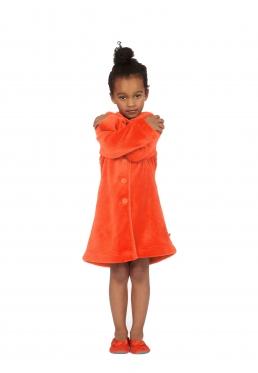 Woody badjas oranje - 4 jaar