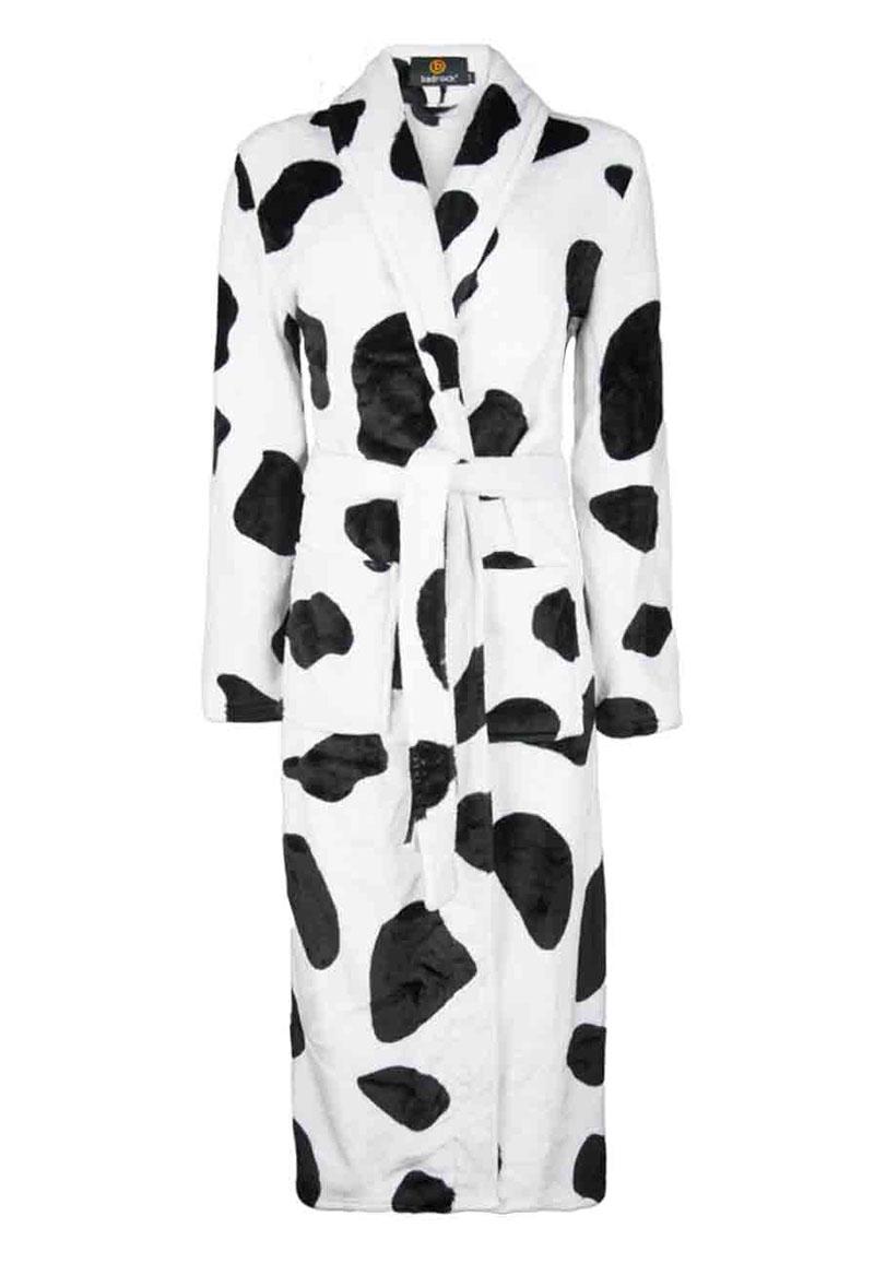 Koeienprint badjas - ik hou van Holland badjas - L/XL
