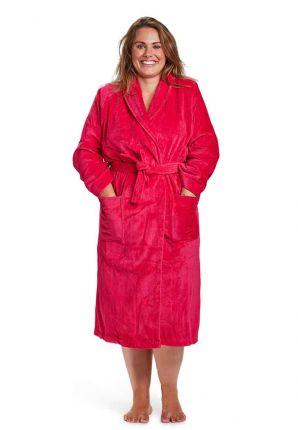 badjas fuchsia roze badrock