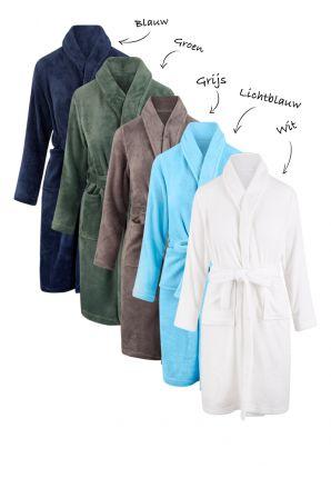 Fleece kinderbadjas borduren – 5 nieuwe kleuren