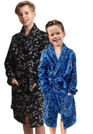 Game kinderbadjas – fleece – 2 kleuren