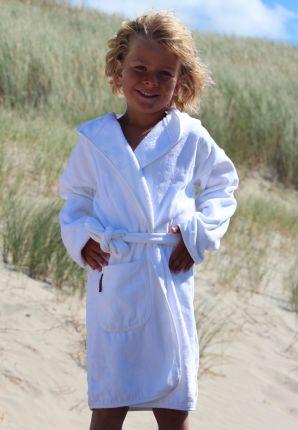 Kinderbadjas met capuchon