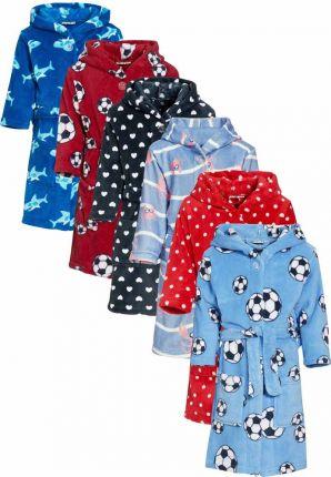 playshoes kinderbadjassen van fleece met capuchon