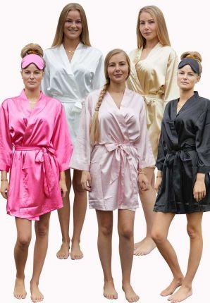 Kimono satijn – 5 kleuren