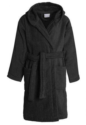 Kinderbadjas zwart