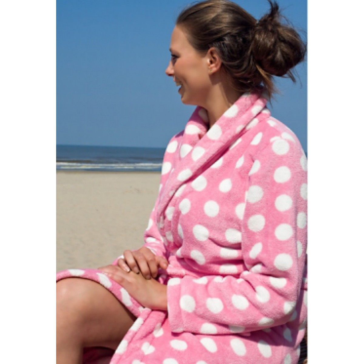 Dames-badjas fleece