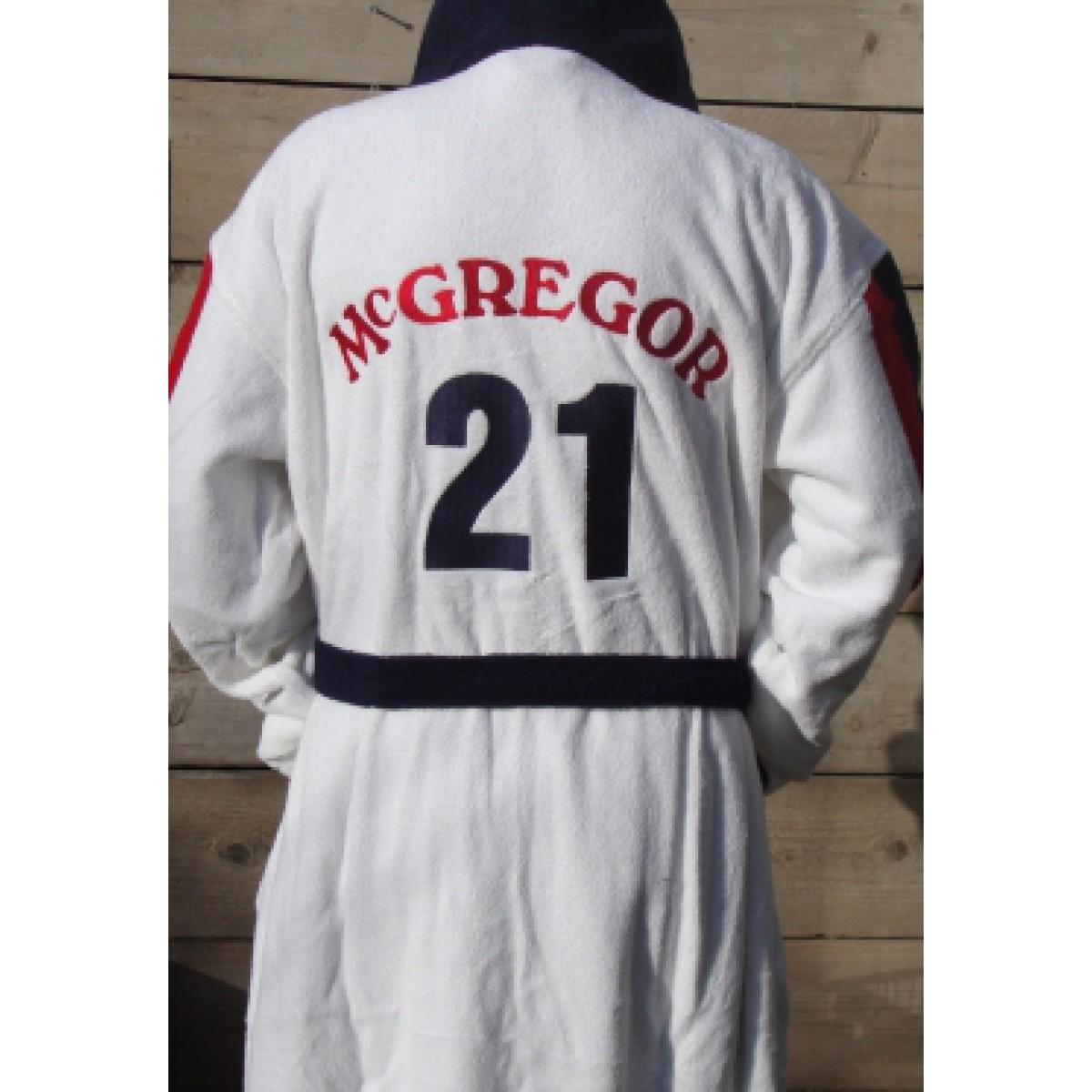 American League met Rugnummer / Heren badjas