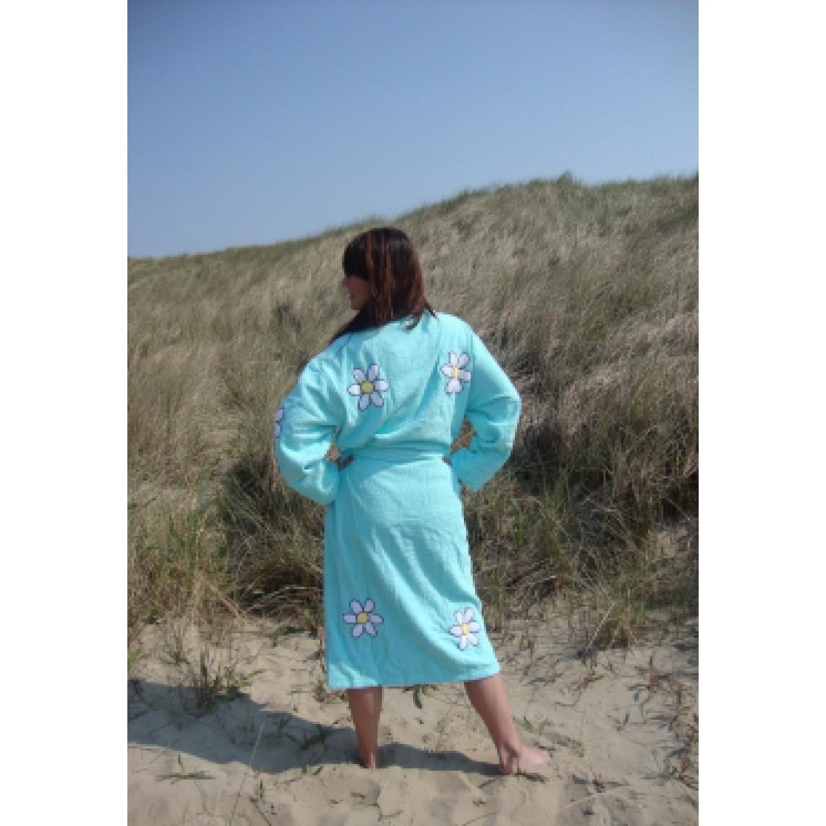 Lange badjas dames
