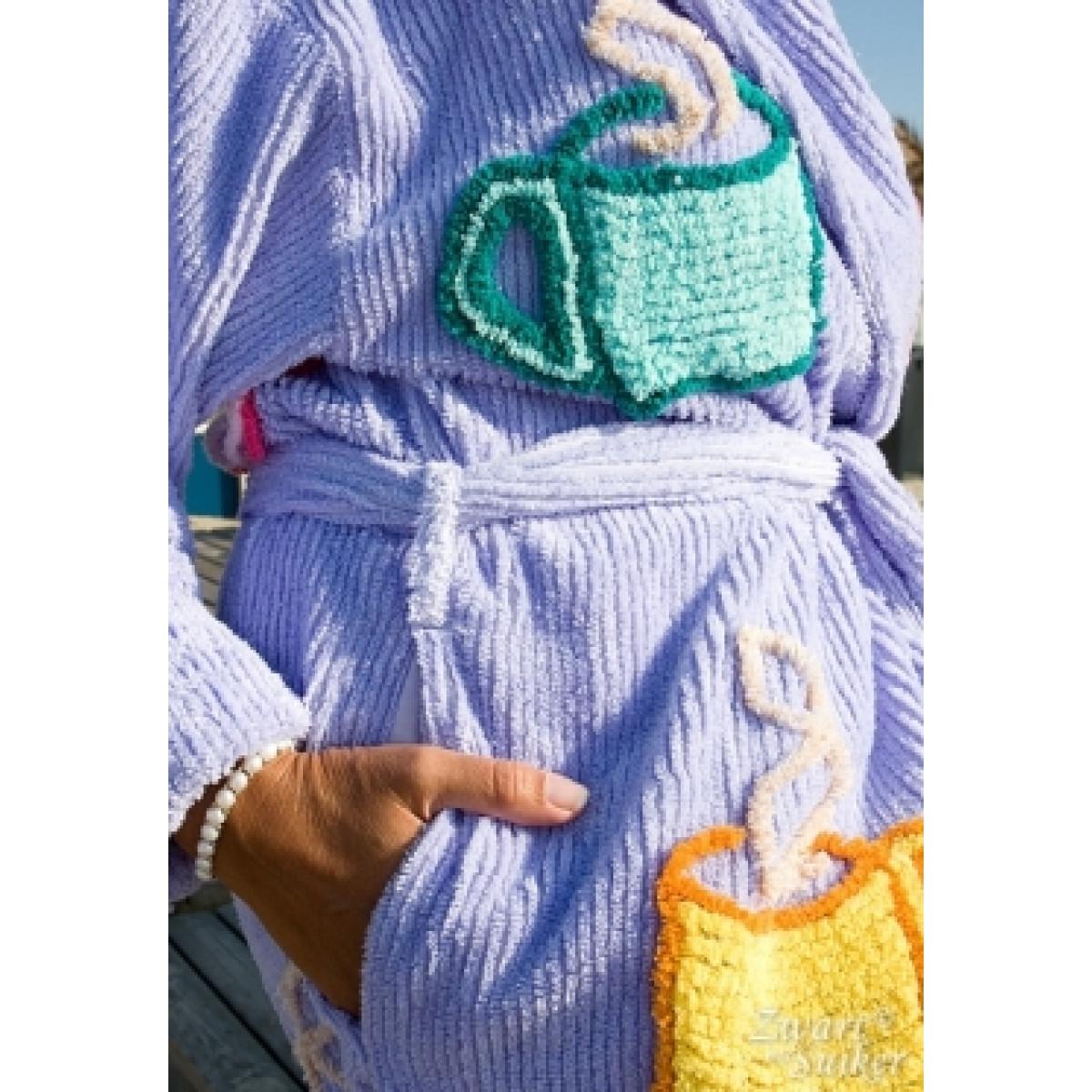 Hippe badjas voor dames