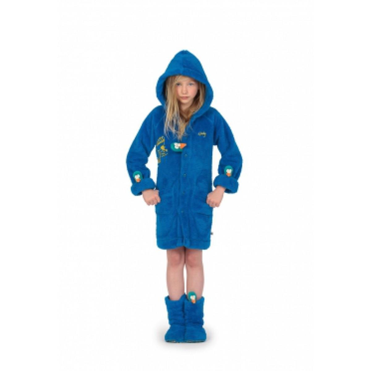 Blauwe badjas Woody