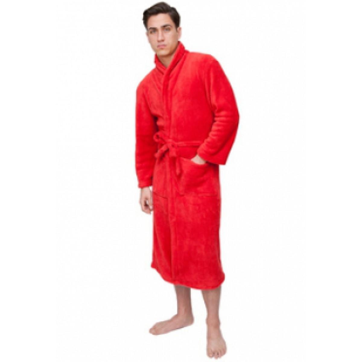 Unisex badjas rood
