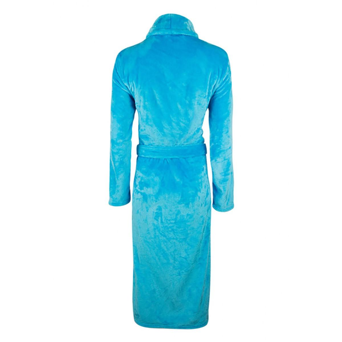Damesbadjas aquablauw
