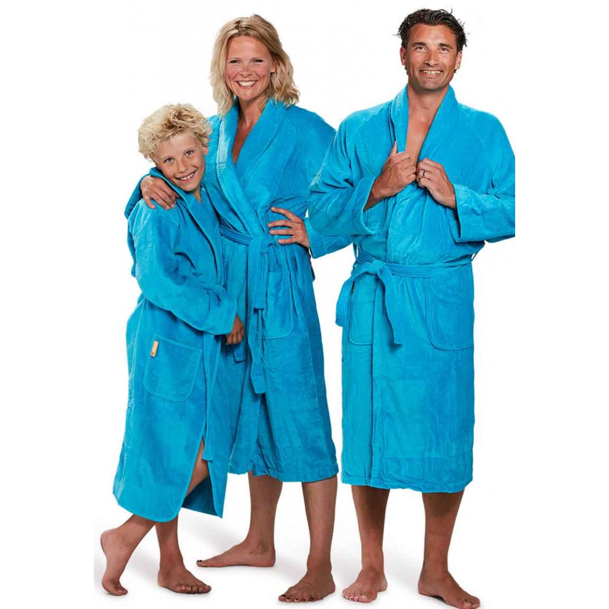 badjas aquablauw badrock
