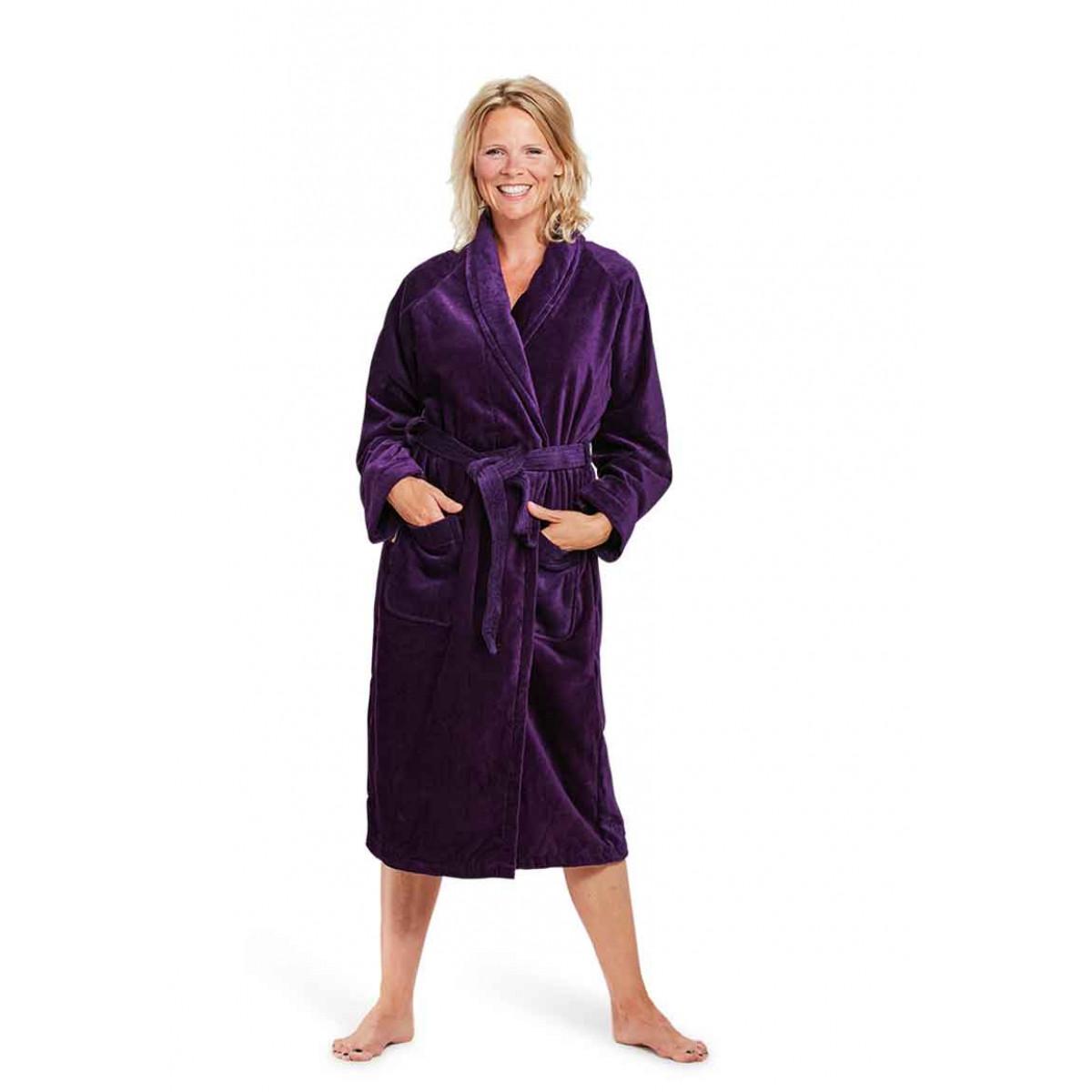 badjas paars badrock