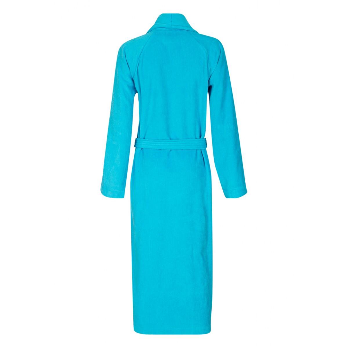 Unisex badjas turquoise
