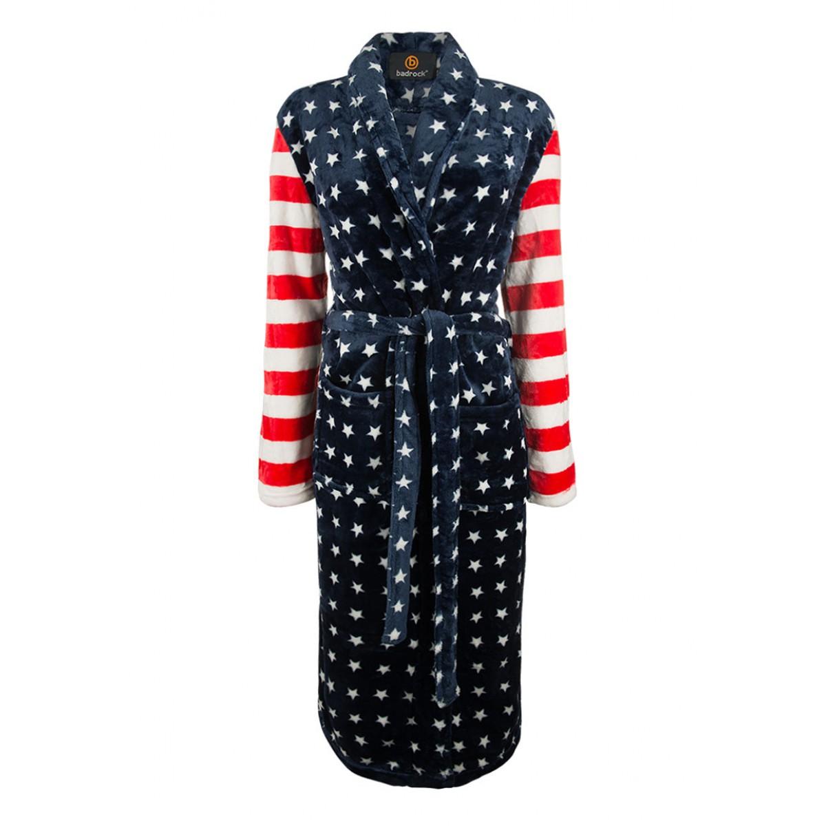 USA print badjas