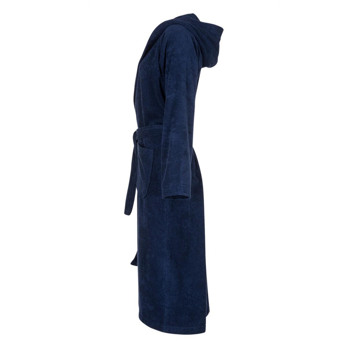 Marineblauwe badjas unisex