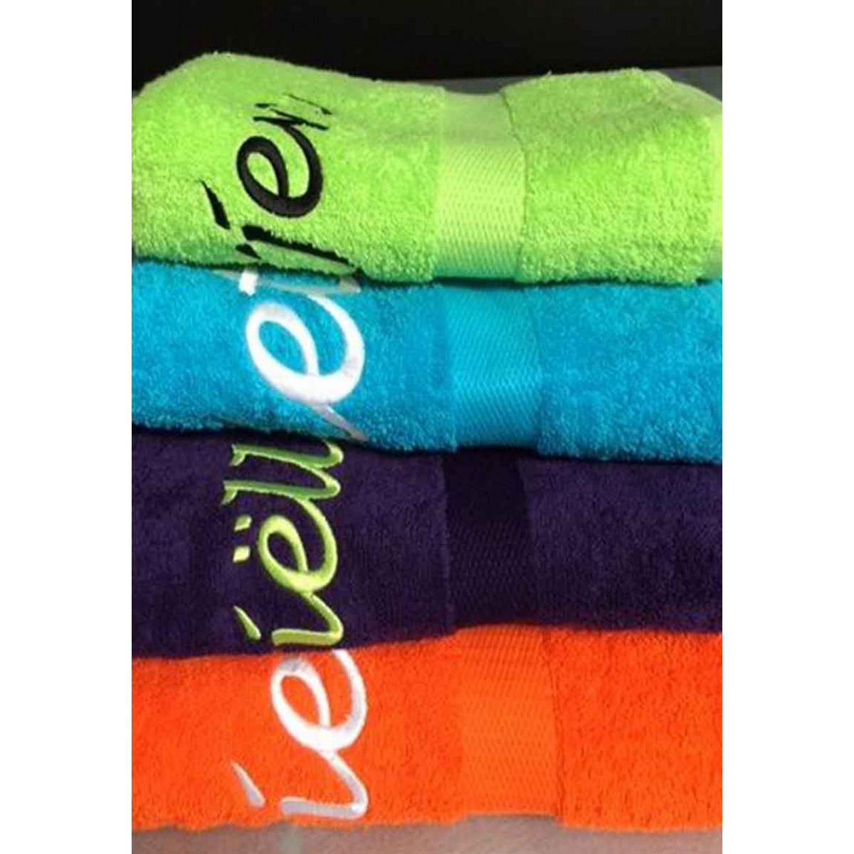 geborduurde handdoeken met naam