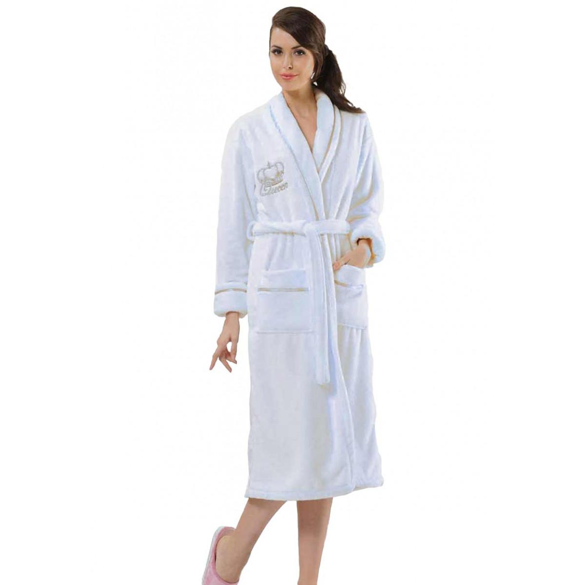 witte badjas queen