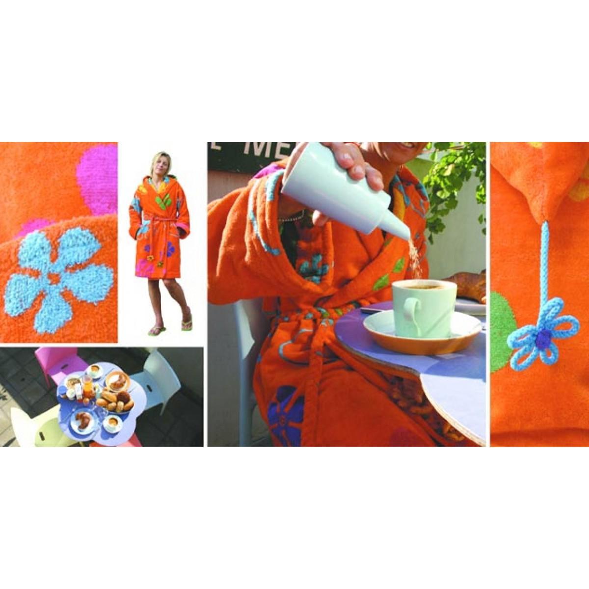 oranje badjas dames