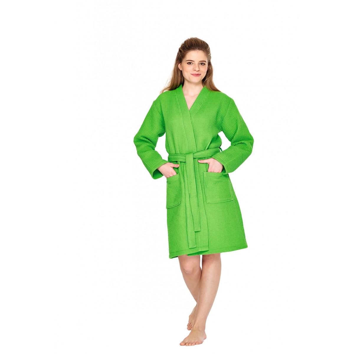 groene badjas kimono dames