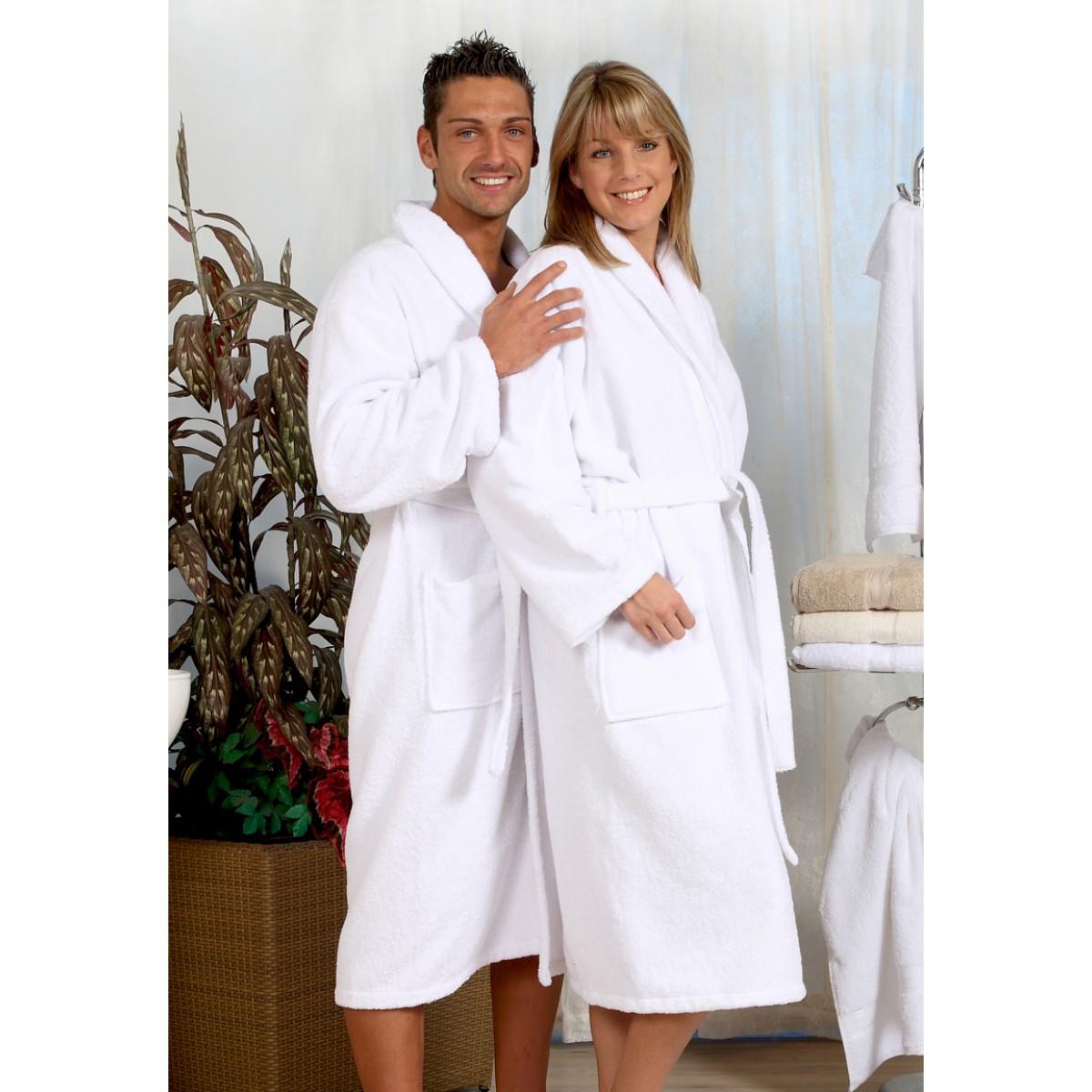 Badjas 2XL-10XL - witte badjas