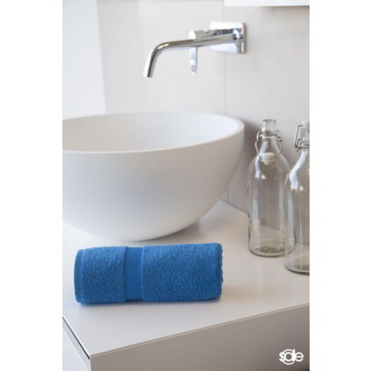 handdoeken kobaltblauw