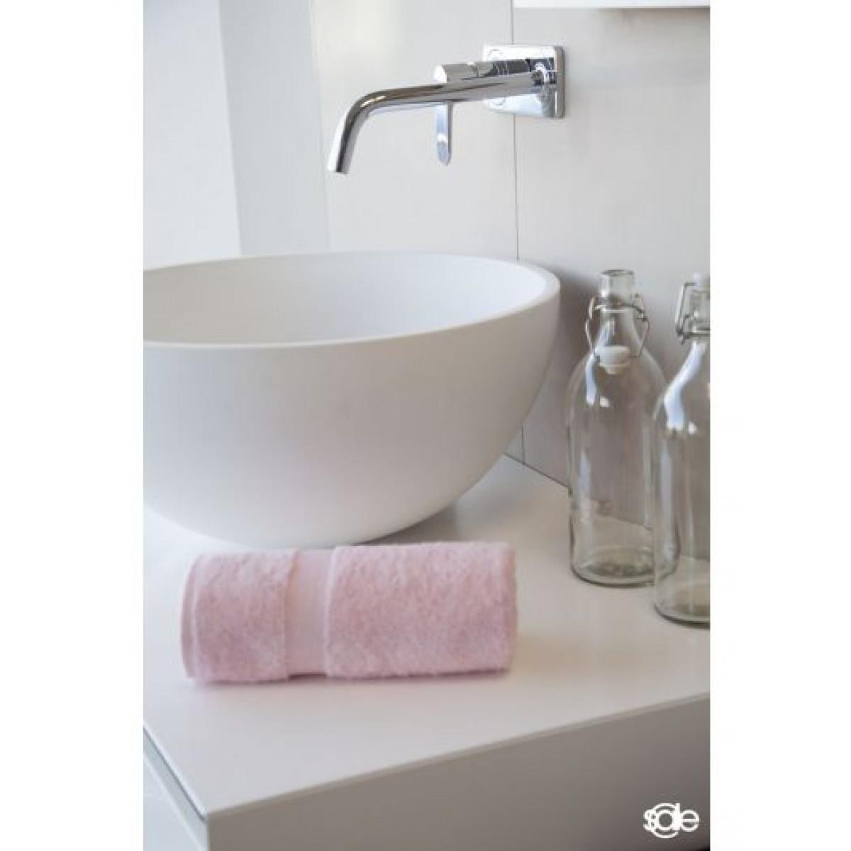 handdoeken lichtroze