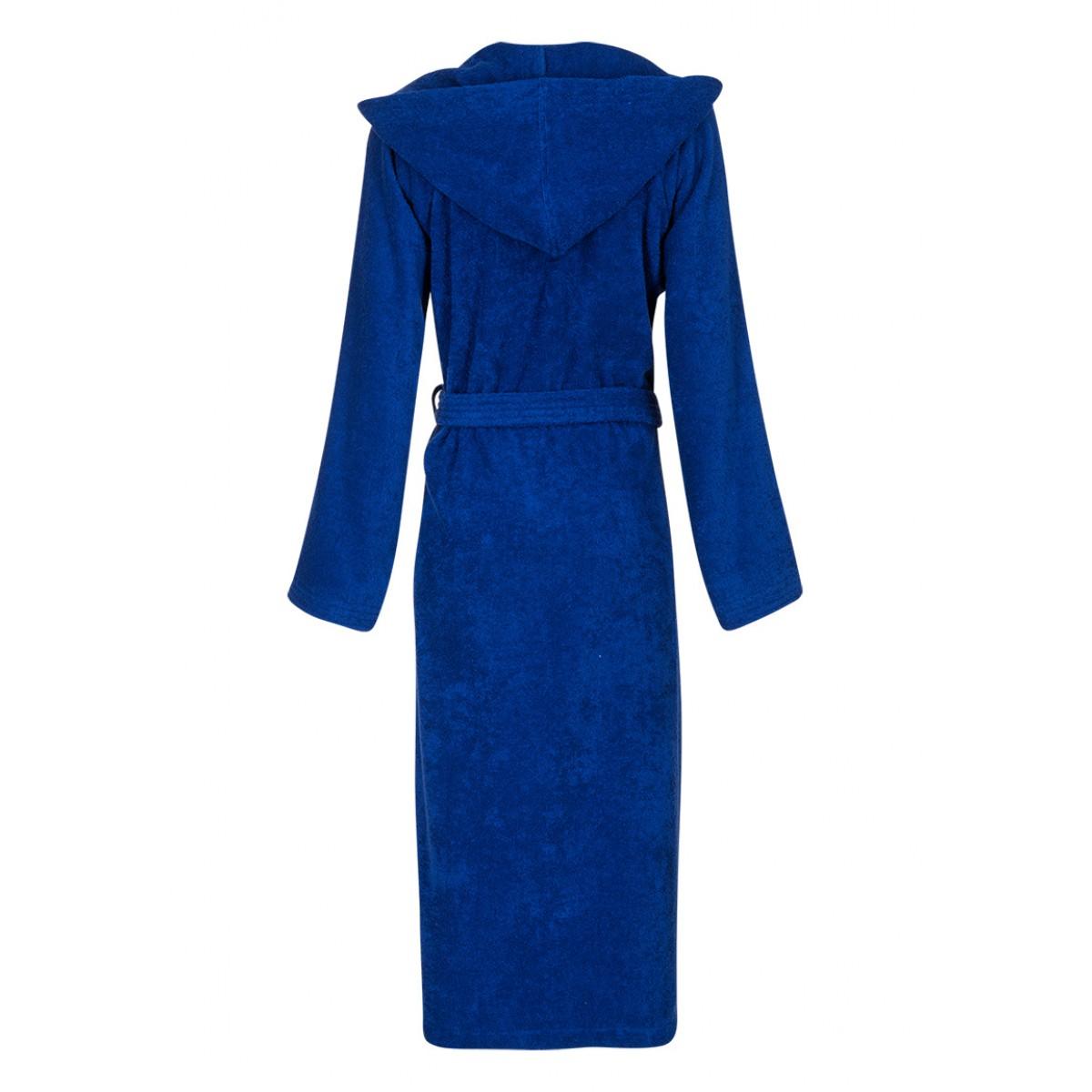 Kobaltblauwe badjas unisex