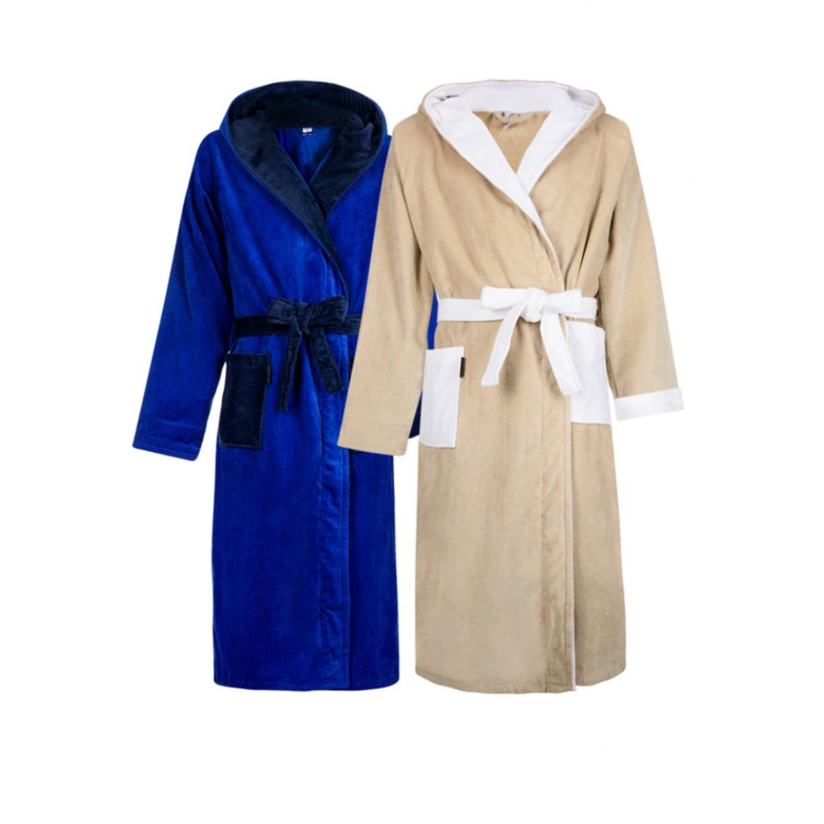 badjassen met capuchon