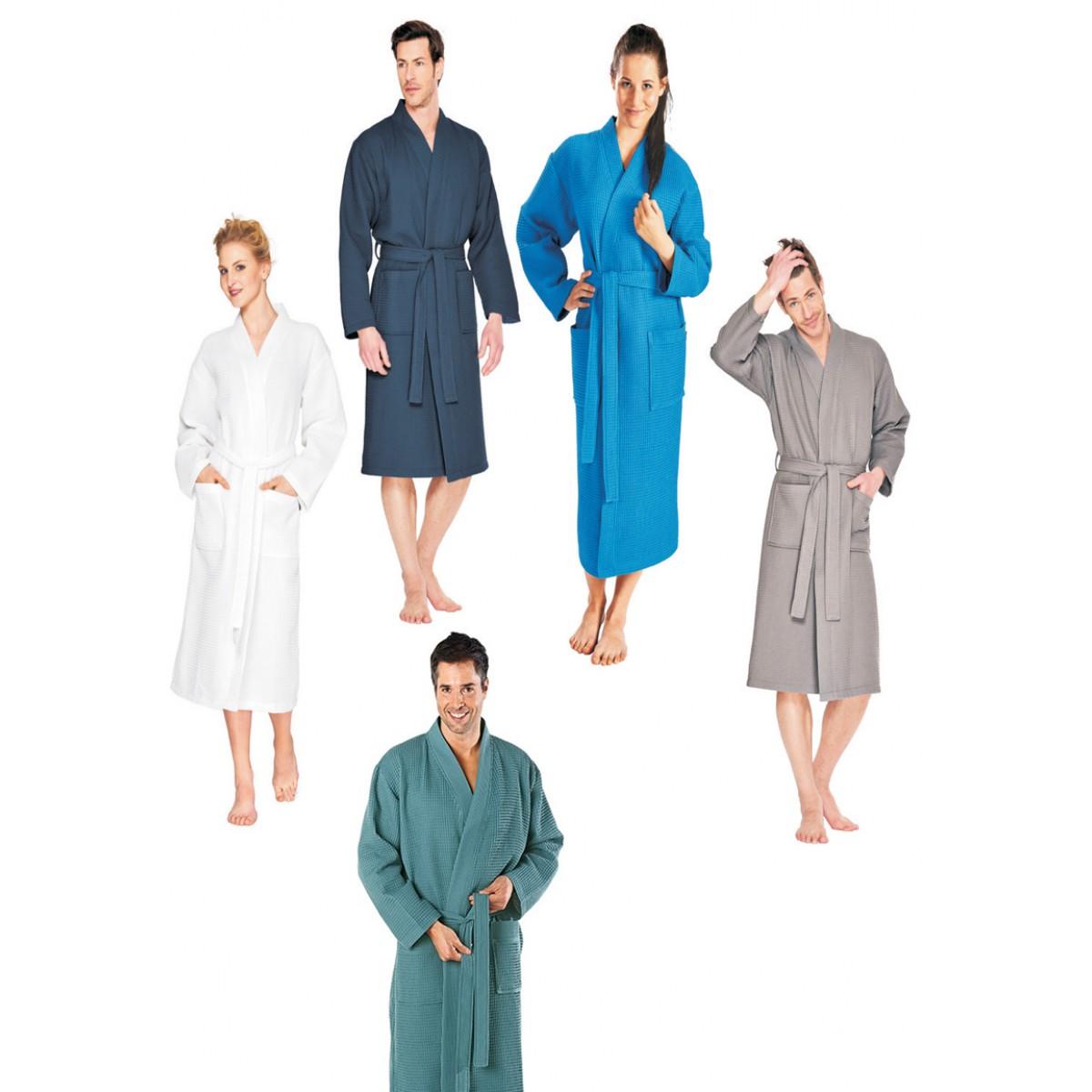 Wafel badjassen kleuren