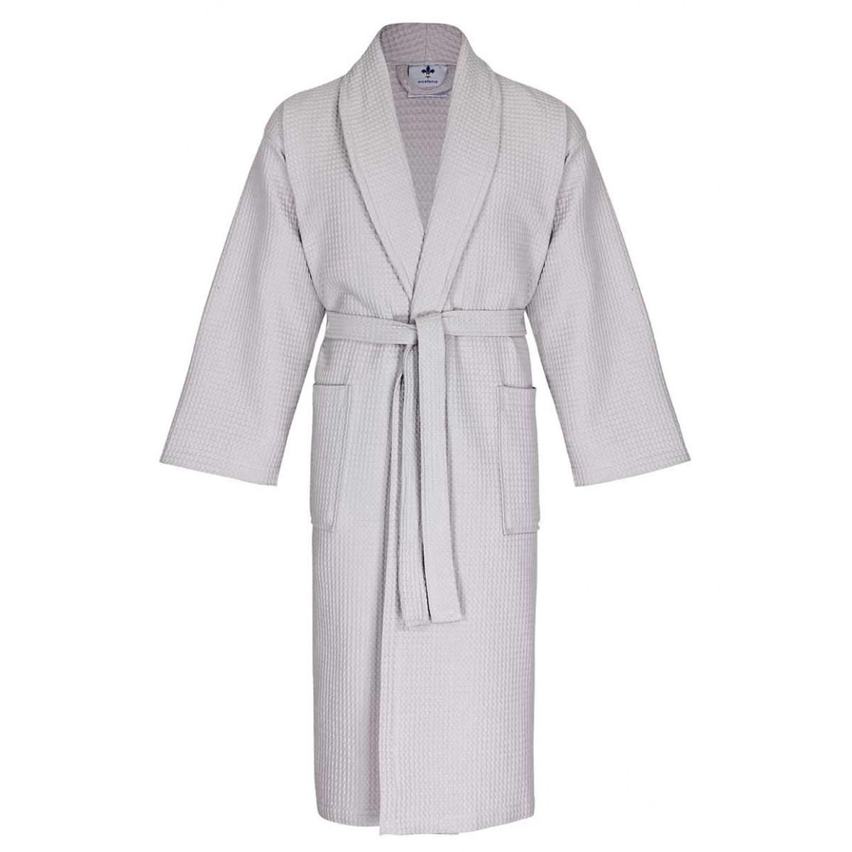 wafel badjas voor de sauna