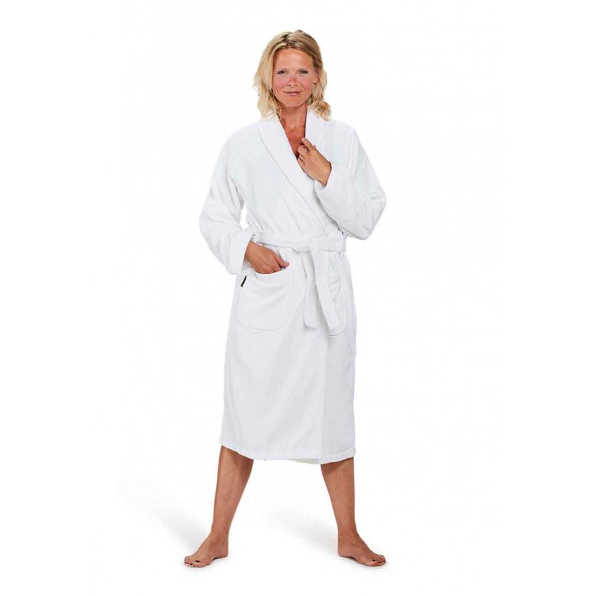 witte badjas dames
