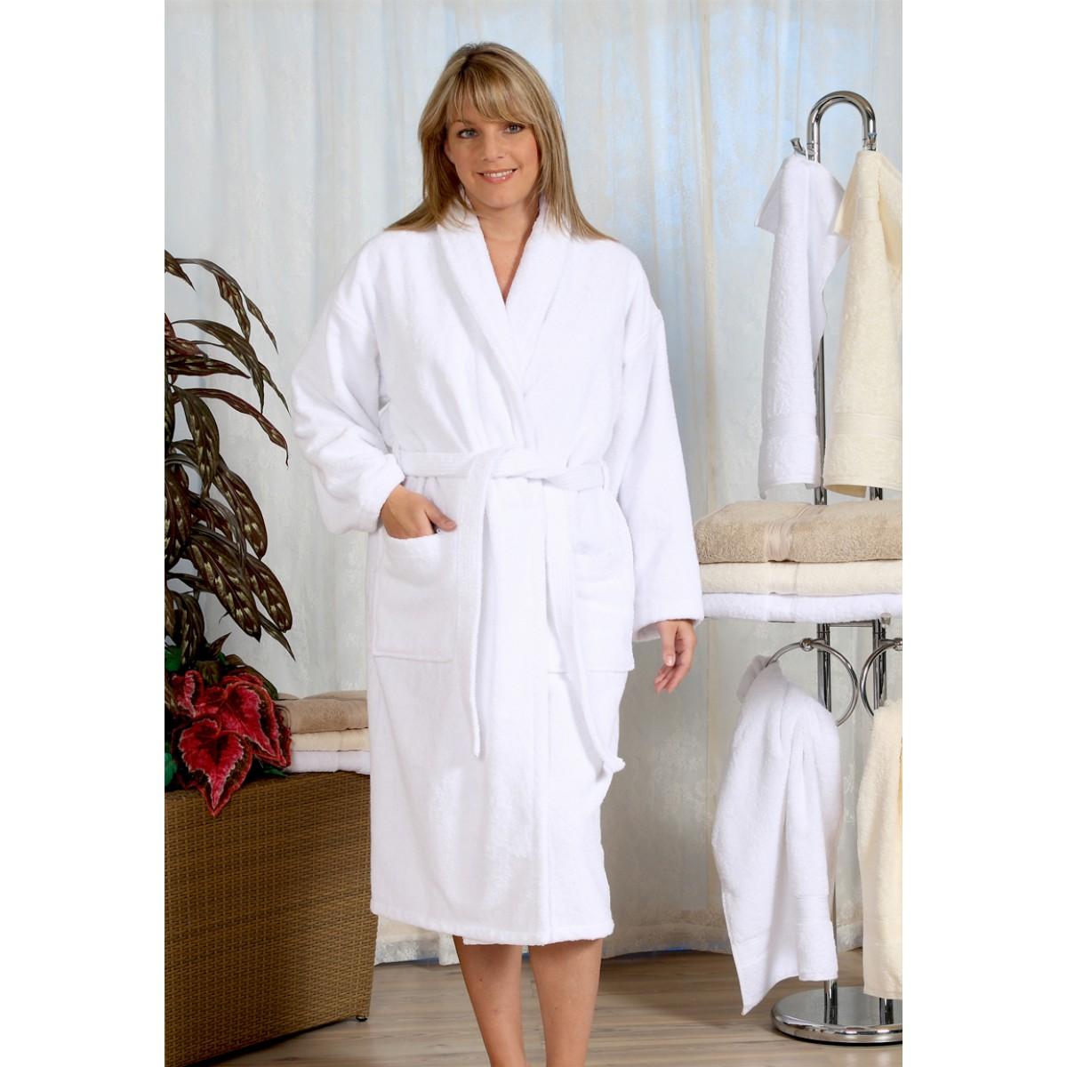 witte badjas grote maat