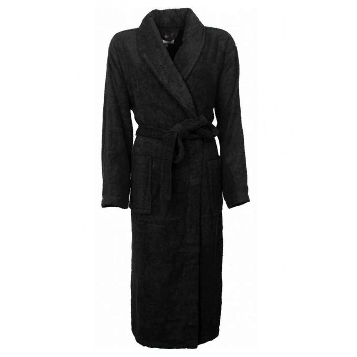Zwarte badjas - Never enough sleep