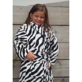 Little Zebra badjas / kinderbadjas