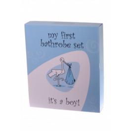 Badjas cadeauset It's a Boy