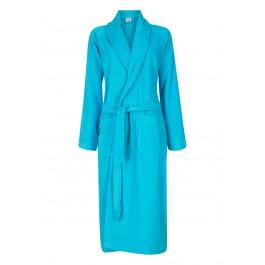 Badjas aquablauw