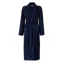 Badjas marineblauw