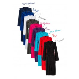 Capuchon badjas in diverse kleuren