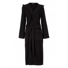 Badjasparadijs Zwarte badjas met capuchon