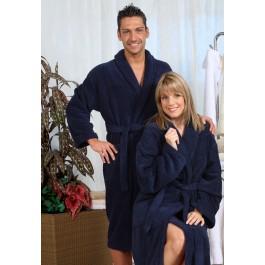 Badjas tot 10XL - Blauwe badjas