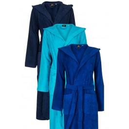 Badjas met capuchon - blauwe badjassen